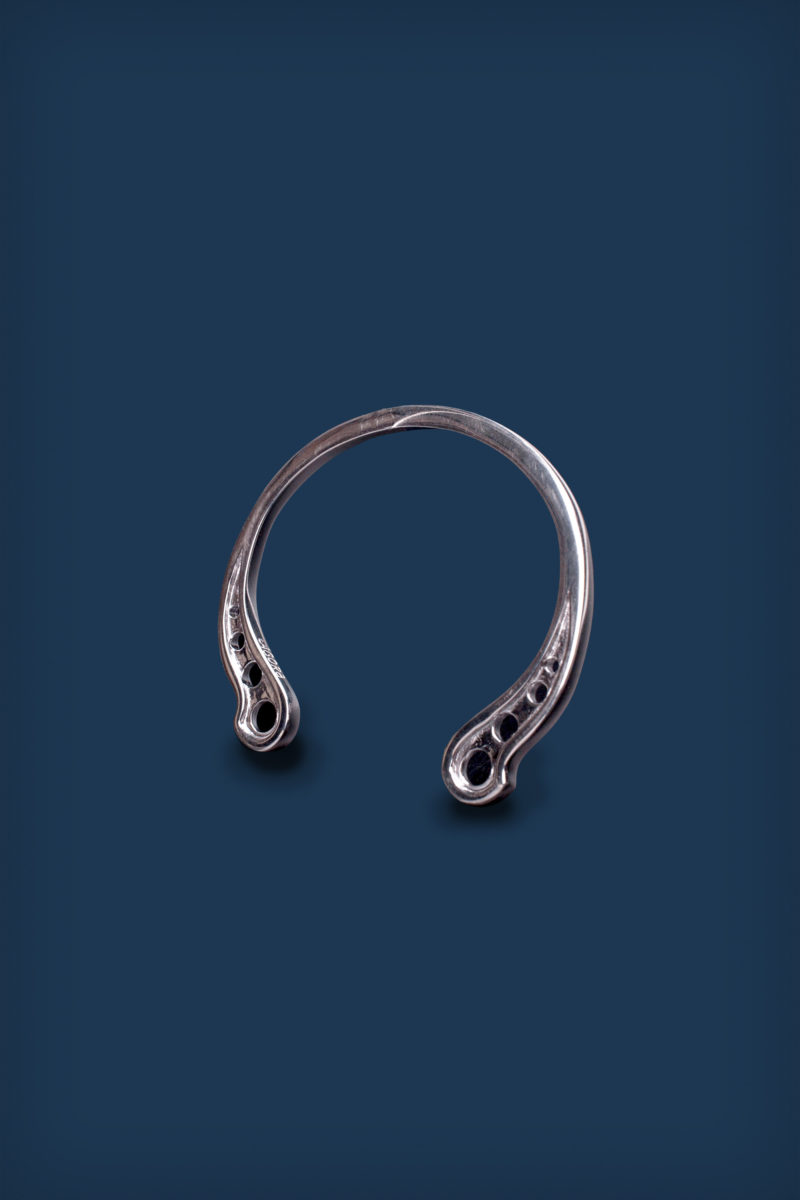 1. MAIN IMAGE - Oldblue x Antea Tigra - Agora Horseshoe Bangle-2