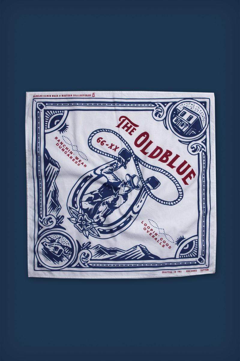 Oldblue Bandana - The Loopin' Good