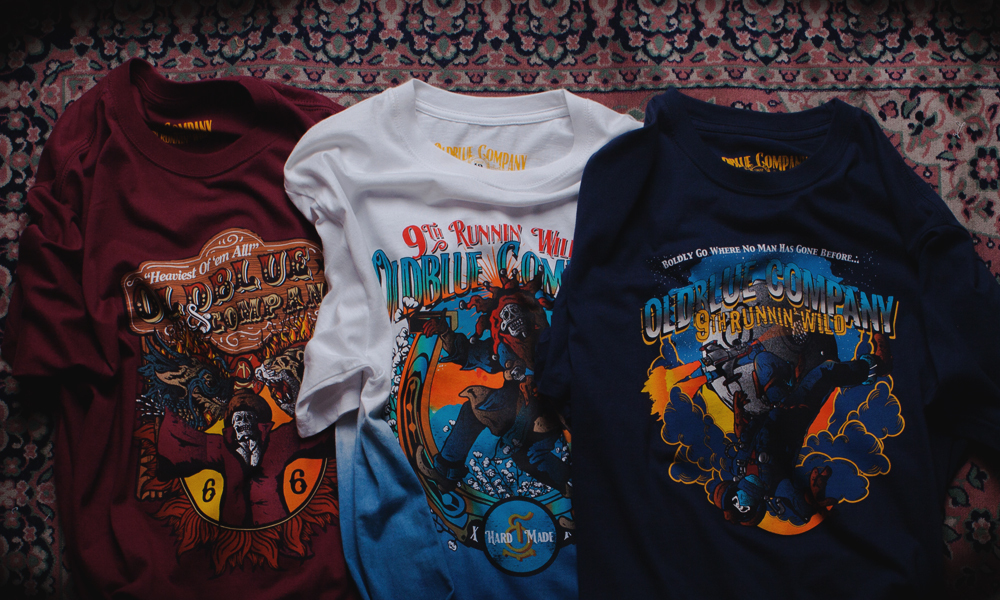 NEW RELEASE: #9THRUNNINWILD Tees Collection!